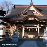 水郷田名の古社「田名八幡宮」
