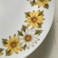 花柄プリント レトロ : フラワーシーズンだから使いたいテーブルウェア!