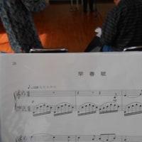3月19日(日)合唱団の練習の様子
