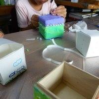 お絵描き教室「宝の箱」を作る