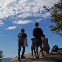 宮島・弥山の山歩き 161010