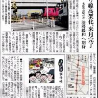 名鉄布袋駅高架化 6月10日