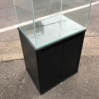 中古 コトブキ レグラス600×450×450オールガラス水槽とキャビネット