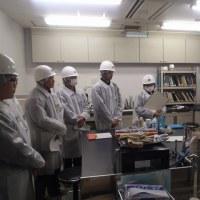 広島市食肉市場に行きました