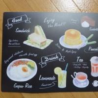キャンドゥ ランチョンマット カフェ風