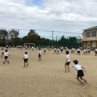 スポーツの秋 子どもたちが運動場にいっばい!