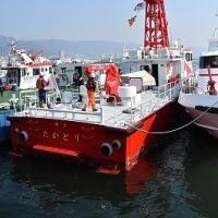 神戸市消防局の新消防艇「たかとり」