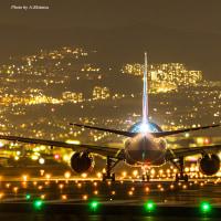 夜間飛行へ 2  / Takeoff at night