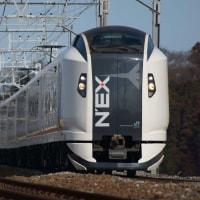 2017年1月18日 総武本線 物井 E259系 成田エクスプレス 20号
