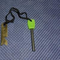 キャンプ用の小道具2(マグネシウム点火スターター)