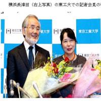 ノーベル賞騒ぎ(H28.10.9)