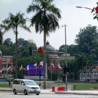 2013 マレーシア旅行 その11 マレーシア――国立モスクへ(クアラルンプール)