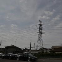 10月21日、午前11時過ぎの空模様