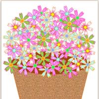 お花を描きましょう!の作成