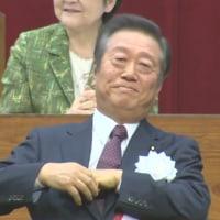 サプライズ登場 小沢一郎氏。