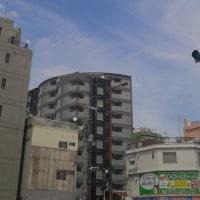 大阪・真田山プール上空地震雲