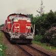 うだるような暑さの中で 男鹿線の普通客車列車 1994-07-31