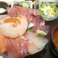海鮮丼!!!