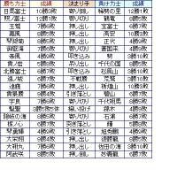 大相撲03月場所13日目
