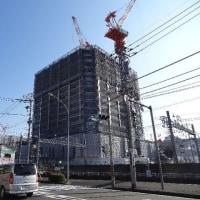 二俣川駅前の高層マンションは15階を越えました
