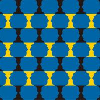 「パターン」ルビン(テキスタイル)
