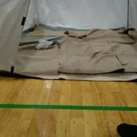 防災訓練に参加しました。