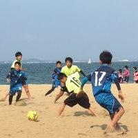 海っぴビーチサッカーAUTUMNCUP元気よく開催しました!