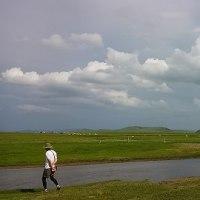 内モンゴルの大草原で迎えた誕生日