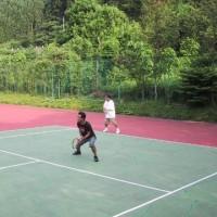 懐かしいテニス合宿