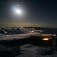 夜明けの風景   ~ 厳冬期の赤岳天望荘