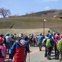 福島県平田村 蓬田岳の山開きに参加