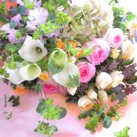 5周年お祝いのお花束