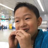 長男、七歳。おめでとう(^-^)