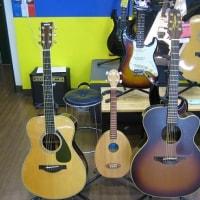 アコースティックギターなど入荷しました