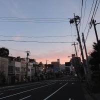 10/16,早朝の東京をLEVEL号で走る。