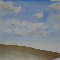 雲の練習。