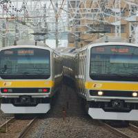 2017年6月27日 総武線  平井 E231系B16・B30編成