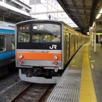 205系M6編成むさしの号八王子行@大宮駅