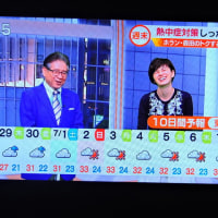 6/28 森田さんの 来週梅雨あけかしら?