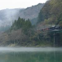 無煙だけど、水鏡(磐西C57)