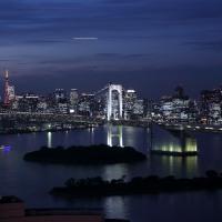 ●東京タワー お台場からの夜景 東京湾とレインボーブリッジ ホテルの画像とお食事