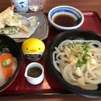 ランチはうどん茶屋北斗松前店で漁り火丼~♪なのだ。。