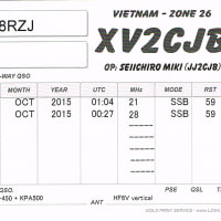 ����QSL XV2CJB by JJ2CJB