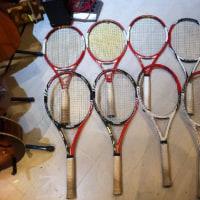 ケニーのテニスラケット「ロジャー・フェデラー」モデルを大公開!