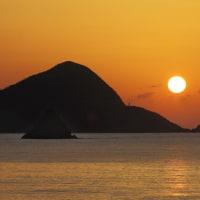 赤木名の夕陽
