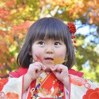3歳  紅葉ロケ