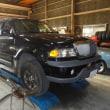 リンカーン ナビゲーター 4WD切り替え不良修理