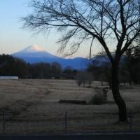 今日の空と富士山と(2017.2.21)