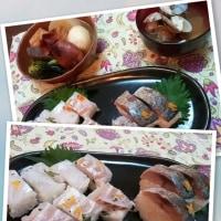 ★柚子香る鯖寿司、柚子胡椒で。★
