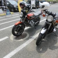 昨日宇土マリーナで見かけたバイク